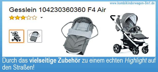 gesslein f4 buggy kinderwagen ii ii kombikinderwagen 3. Black Bedroom Furniture Sets. Home Design Ideas