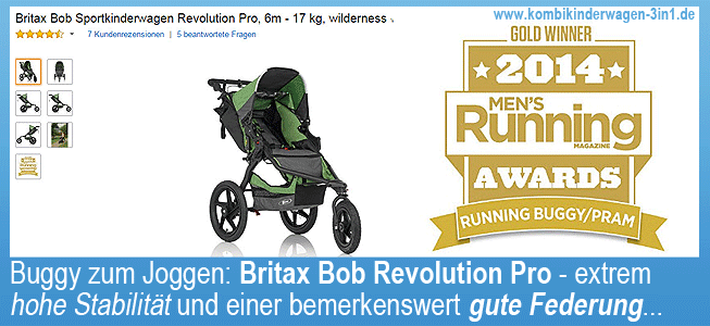 buggy zum joggen britax bob revolution pro ii ii. Black Bedroom Furniture Sets. Home Design Ideas